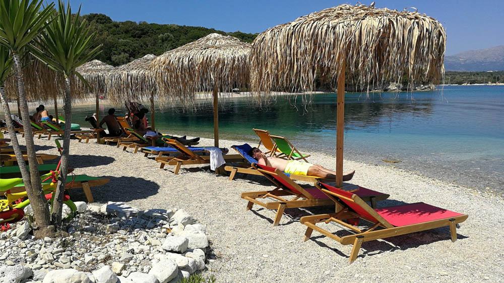 Meganisi Fanari Lefkas Boats
