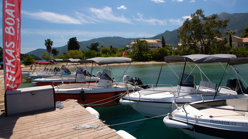 Holidays in Lefkada Lefkas Boats & Ribs