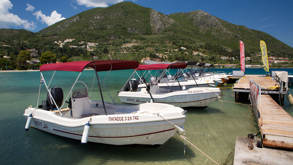 Rent a Boat in Lefkada Family Lefkas Boats