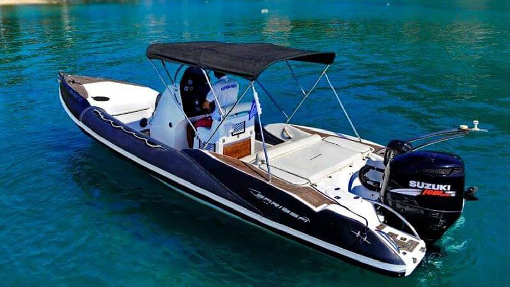 Lefkas Boats Rib Sarissa